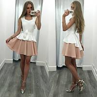 "Женское летнее короткое платье ""Мистика"" № 5-147"