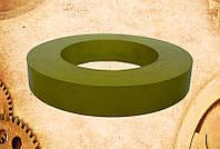 Ролик резиновый ø102хø61х16 мм транспортера приема высечки оборудования по производству картонных упаковок Pur