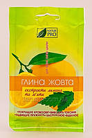 NaturPRO NaturPRO Глина Желтая с экстрактом лимона и мяты, 10 х 50 гр