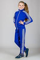 Спортивный костюм для подростка яркий модный уни с лампасами