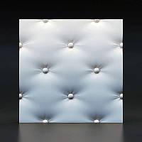 3D панели кожа капитоне 158