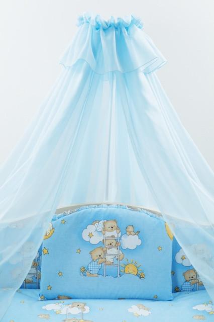 Детский постельный комплект эконом «Мультяшная палитра» (в ассортименте, 8 элементов), EkoBaby