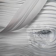 Молния рулонная белого цвета, Т3 (метражом и оптом)