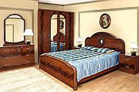 Спальня 4Д Лаура орех лак (Світ Меблів TM)