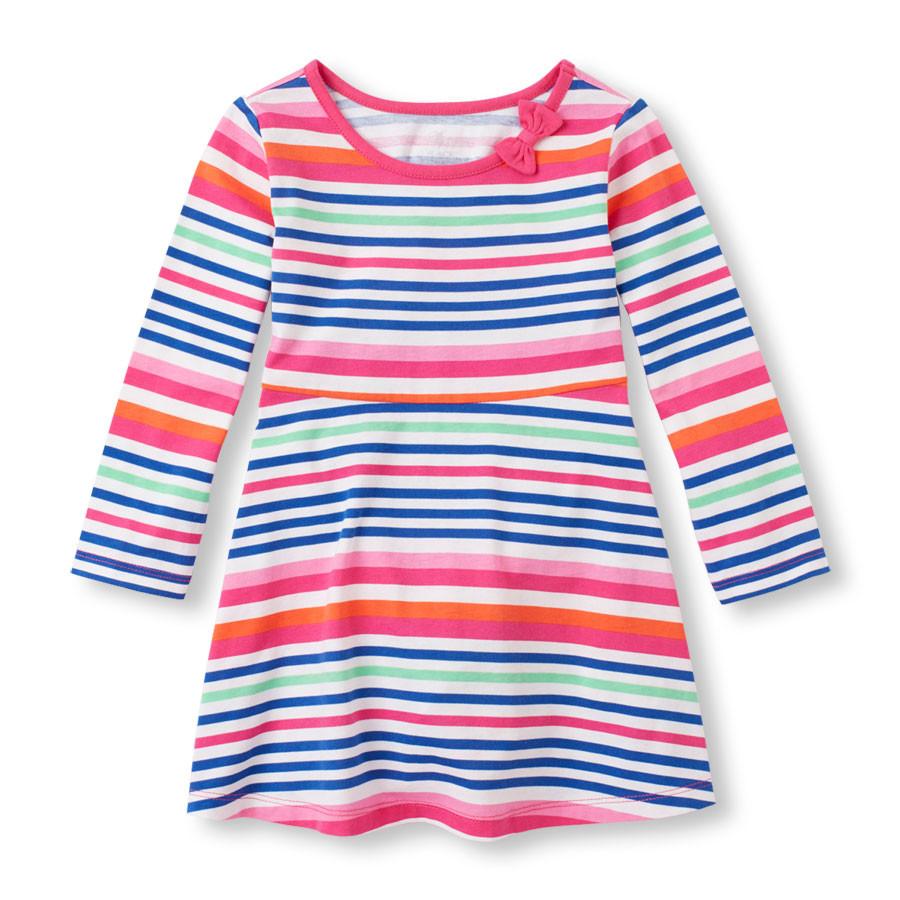 Платье с длинным рукавом для девочки The Children's Place (США)