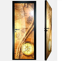 """Межкомнатная дверь """"Фото"""" с фотопечатью на внутренней поверхности стекла"""