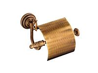Держатель для туалетной бумаги KUGU Versace Antique 211A (латунь, бронза)(Бесплатная доставка Новой почтой)
