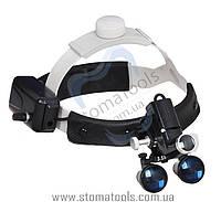 DY-106  3.5х Бинокуляры с головной фиксацией  и LED подсветкой