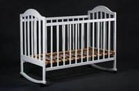 Детская кроватка «НАПОЛЕОН» белая