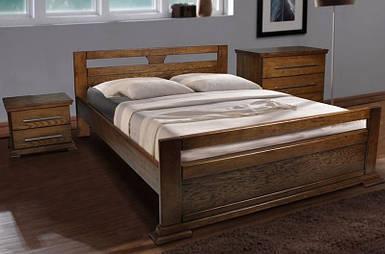 Кровать двуспальная Модерн цвет орех