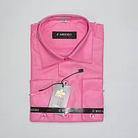 Школьная  классическая рубашка с длинным рукавом для мальчиков Турция 116р-158р