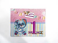 Книги пожеланий детская для девочки размер 20х25  40 страниц