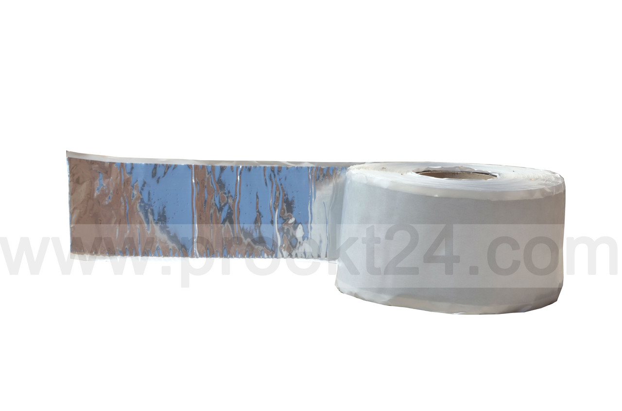 Бутиловая герметизирующая лента с фольгой 50мм - Глобальные энергосберегающие технологии  в Днепре