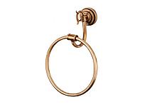 Полотенцедержатель кольцо KUGU Versace Antique 204A (латунь, бронза)(Бесплатная доставка Новой почтой)