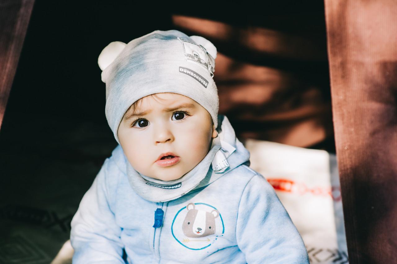 Детская шапка (набор) БЕНДЖИ оптом размер 42-44-46