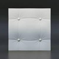 3D панели кожа прямой квадрат 130