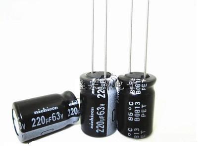 Конденсатор электролитический 220uF 63V 105С
