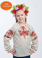 Красочная вышиванка для девочки от волынских мастеров