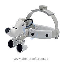 DY-105  2.5х Бинокуляры с головной фиксацией  и LED подсветкой