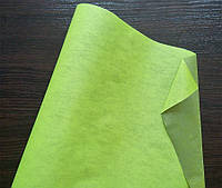 Крафт-бумага подарочная Салатово-зеленая 10 м/рулон
