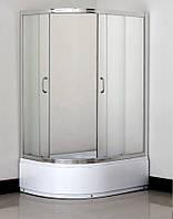 Душова кабіна SANTEH 1115 R F FABRIC 115х85х195 права глибокий піддон