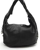 Черная женская сумка плетенка Б/Н art. 163, фото 1