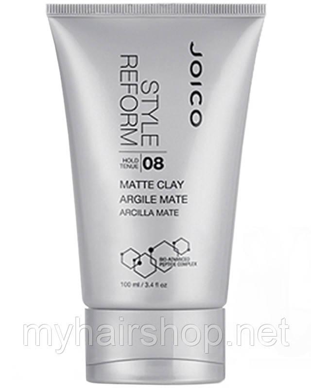 Клей матовый для моделирования сильной фиксации Joico Style & Finish Style Reform Matte Clay