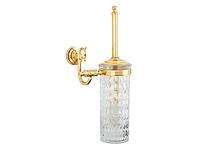 Ершик настенный KUGU Versace 205G (латунь, золото, стекло)(Бесплатная доставка  )