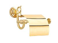 Держатель для туалетной бумаги KUGU Versace 211G (латунь, золото)(Бесплатная доставка Новой почтой)