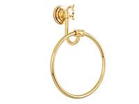 Полотенцедержатель кольцо KUGU Versace 204G (латунь, золото)(Бесплатная доставка  )
