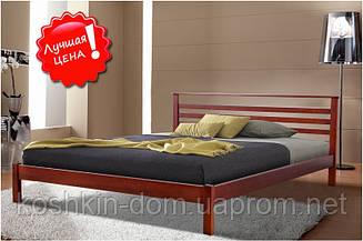 Кровать двуспальная Диана 160*200 массив ольхи
