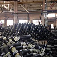 Теплоизолированные стальные трубы 478/630 в оболочке (ПЕ; СПИРО)