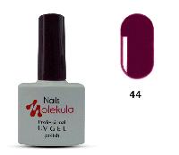 Гель-лак для ногтей Nails Molekula №44 сливовый