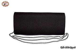 Вышитый серый клатч Бриз, фото 2