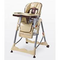Детский стульчик для кормления  Caretero Magnus Classic - cappuccino