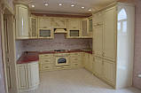 Кухня на замовлення з глянцевими фасадами з МДФ, фото 2