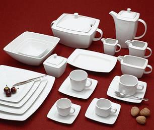 Посуда столовая для сервировки фарфоровая