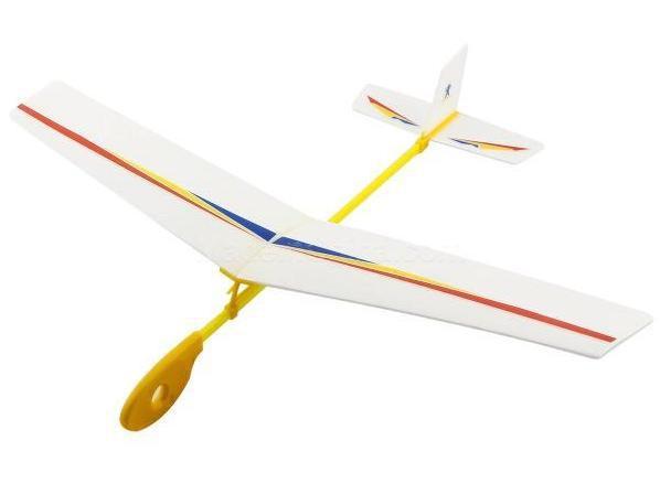 Планер метательный модель ZT Model Flying Hawk 420 мм пенопласт (модель самолета, сборные модели самолетов) - btv.in.ua  в Луцке