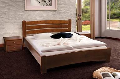 Кровать двуспальная София массив ольха
