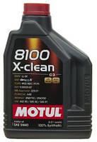 Масло MOTUL 8100 X-CLEAN SAE 5W-40 2л (854121)