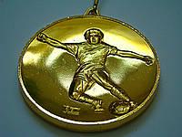 Медаль MD-59 gold с лентой