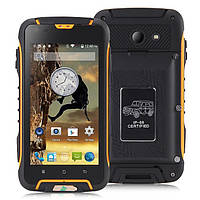 Jeep F605 PRO orange  Противоударный телефон с суппер батареей (АКБ 12000 мАч) , фото 1