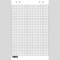 Блок бумаги для флипчартов Buromax 10 листов 64х90 клетка (BM.2295)