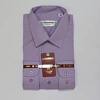 Подростковая  классическая рубашка с длинным  рукавом для мальчиков Турция 158р 170р