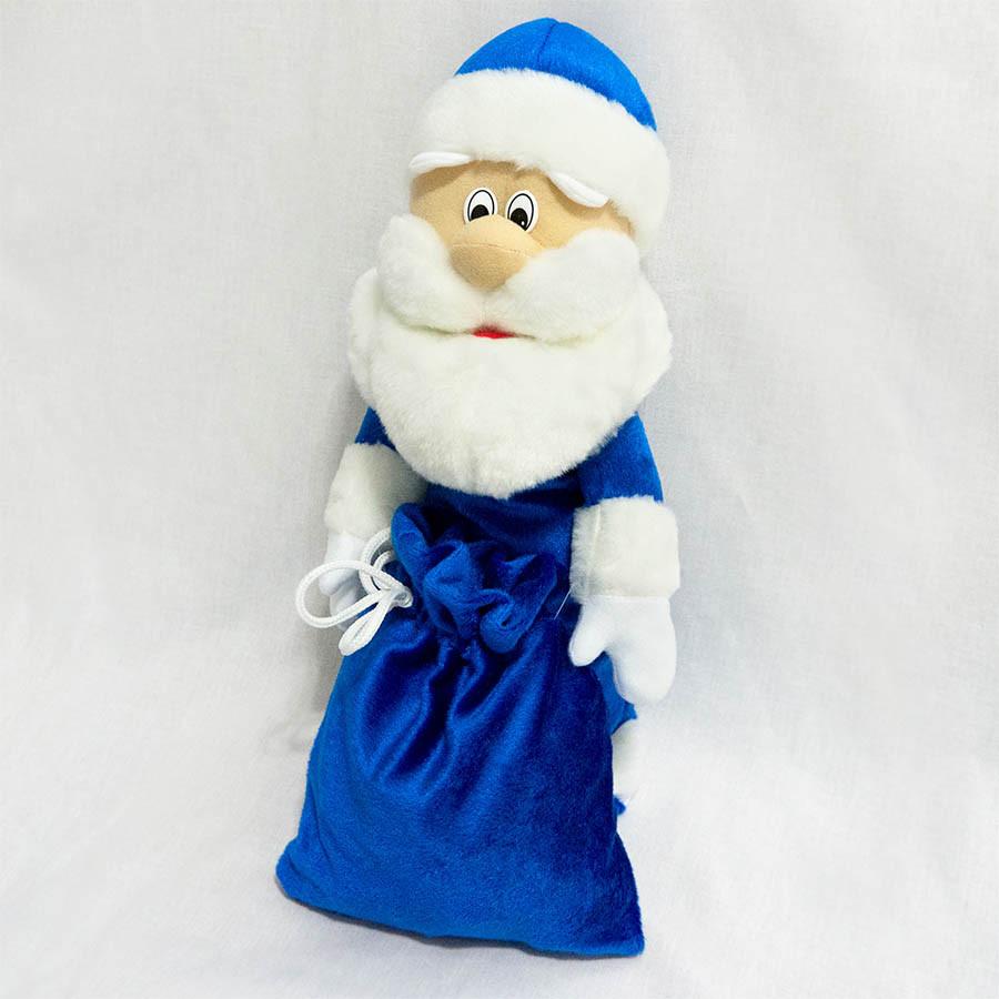 Чехол под шампанское Дед Мороз 40см синий (454-2) - Золушка™ в Белой Церкви
