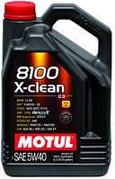 Масло MOTUL 8100 X-CLEAN SAE 5W-40 4л (854154)