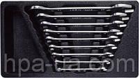 Набор рожковых ключей в ложементе (6-27мм), 9 предметов AmPro T40593