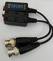 Приёмо-передатчик AHD/HDCVI/HD-TVI видеосигнала по витой паре Seven HD-700