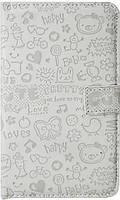 "Чехол для Meizu MX3, ""Nait"" White, фото 1"