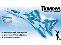 Самолет метательный модель истребителя ZT Model Thunder (модель самолета, сборные модели самолетов)